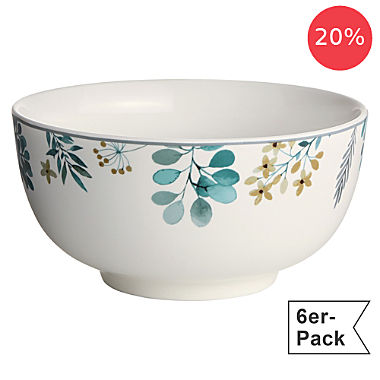 Erwin Müller 6-pack cereal bowls