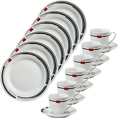 Gepolana 18-piece coffee serving set