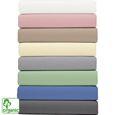 Primera organic cotton fitted sheet