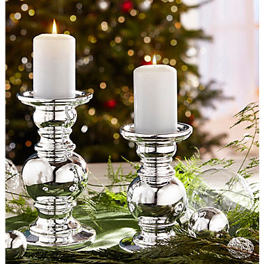 2-piece candle holder set