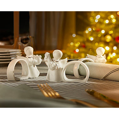 3-piece napkin rings set