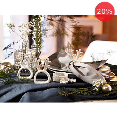 4-pack napkin rings