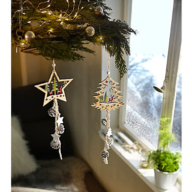 2-piece hanging decoration set