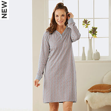 Erwin Müller single jersey nightdress
