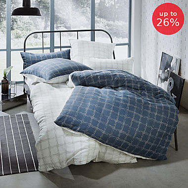 REDBEST  reversible duvet cover set