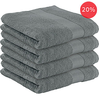 Erwin Müller 4-pack bath towels