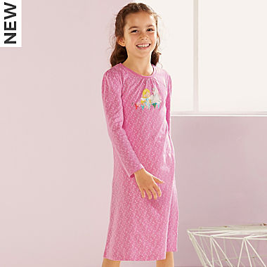 Erwin Müller single jersey girl's nightdress