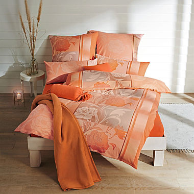 Erwin Müller luxury cotton flannelette duvet cover set