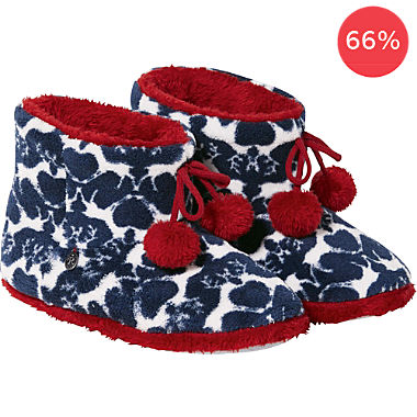 rebelle cuddly bed slippers