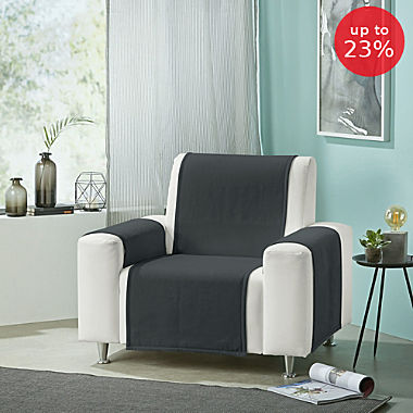 Erwin Müller 3-piece armchair & sofa cover set