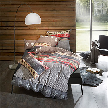 Erwin Müller cotton flannelette duvet cover set