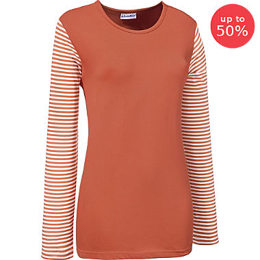 Erwin Müller single jersey women's long sleeve top