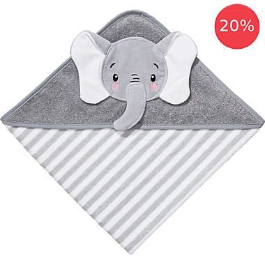 Erwin Müller kids hooded bath towel