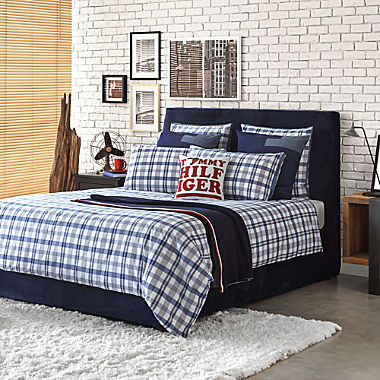 Tommy Hilfiger percale duvet cover set