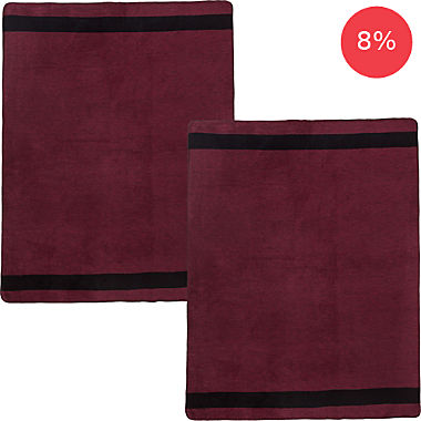 Erwin Müller 2-pack home blankets