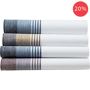 4-pack men's handkerchiefs