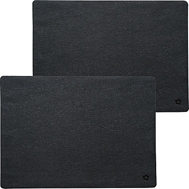 Pichler leather look 2-pack table mats