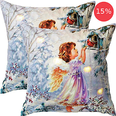 REDBEST 2-pack LED cushion covers