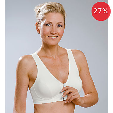 MedoVital Bra without underwire with front zip