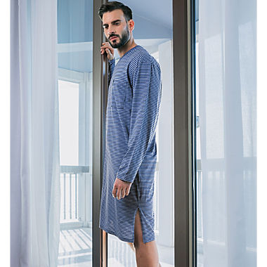 Ammann single jersey men´s nightshirt