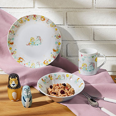 Gepolana 3-pc children tableware set