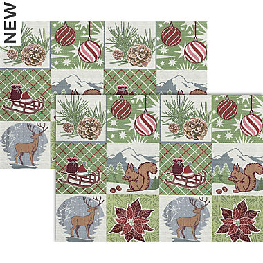 Apelt gobelin tapestry 2-pack table mats