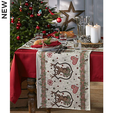 Apelt gobelin tapestry table runner