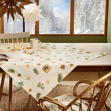Erwin Müller non-iron square tablecloth