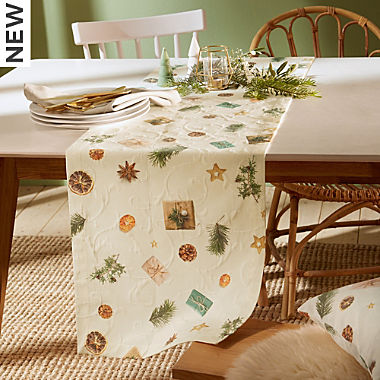 Erwin Müller  table runner