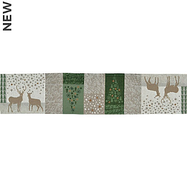 Sander gobelin tapestry narrow table runner