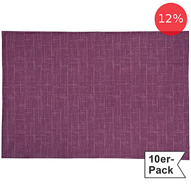 Erwin Müller wipe-clean 10-pack table mats