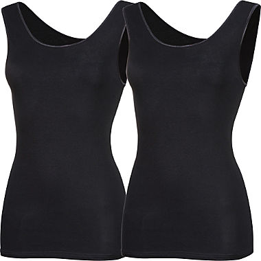 Erwin Müller 2-pack women's underwear vests