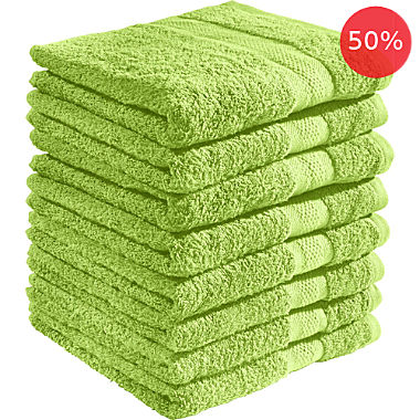 REDBEST 8-pack bath towels