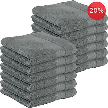 Erwin Müller 12-pack hand towels