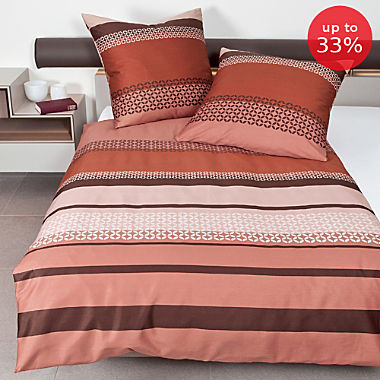 Janine Egyptian cotton sateen duvet cover set