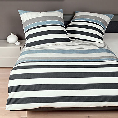 Janine cotton flannel duvet cover set