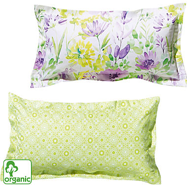 Erwin Müller Egyptian cotton sateen organic cotton reversible pillowcase