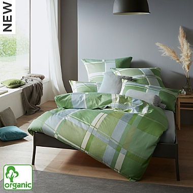 Erwin Müller Egyptian cotton sateen organic cotton duvet cover set