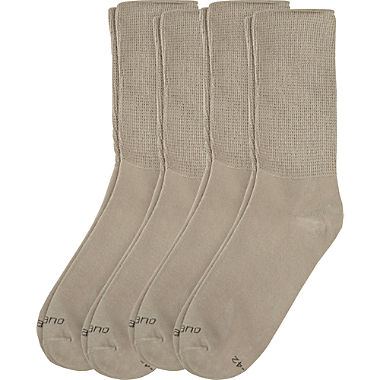 Camano 4-pack unisex socks with soft cuffs