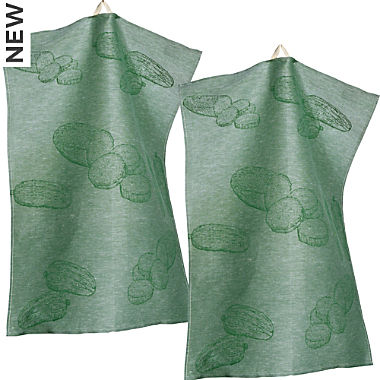 Sander 2-pack tea towels