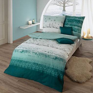 Kaeppel cotton flannel duvet cover set