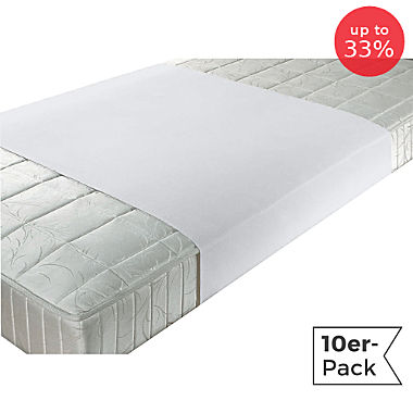Erwin Müller 10-pack waterproof mattress protectors