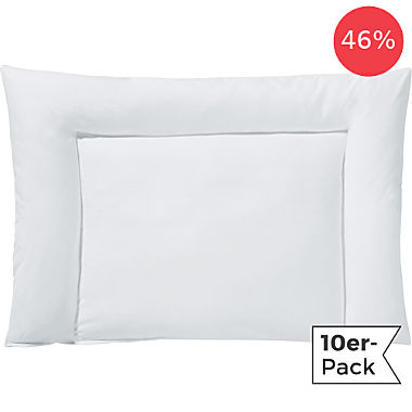 Erwin Müller 10-pack kids flat pillows