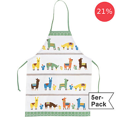 Erwin Müller 5-pack children's aprons