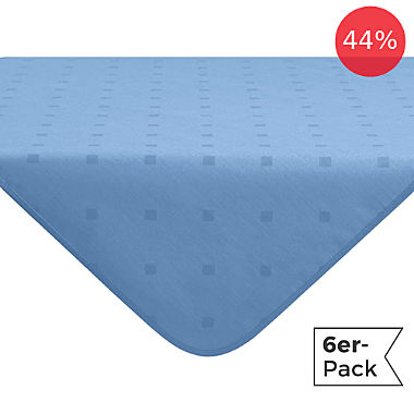 Erwin Müller wipe-clean 6-pack square tablecloths