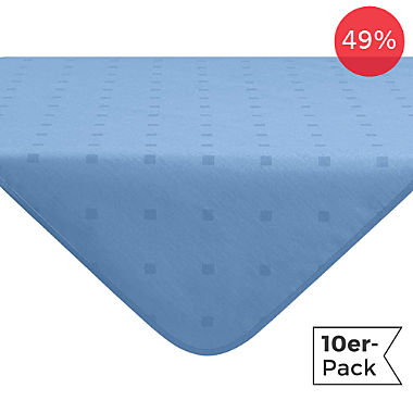 Erwin Müller wipe-clean 10-pack square tablecloths