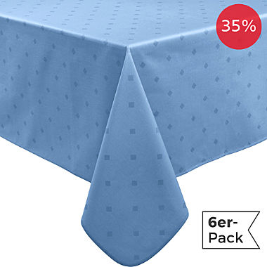 Erwin Müller wipe-clean 6-pack tablecloths