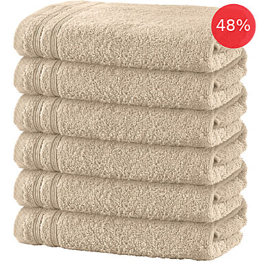 Erwin Müller 6-pack bath towels