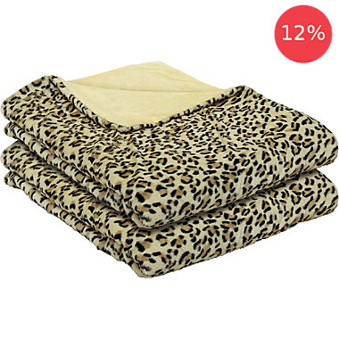 2-pack home blankets