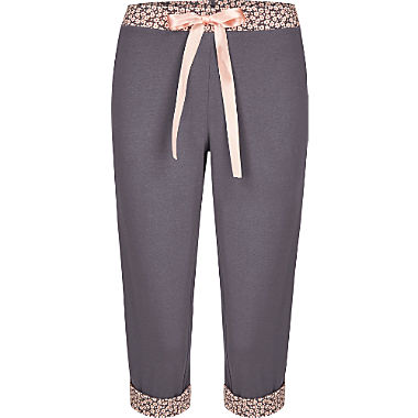 Bloomy single jersey women's Capri pants